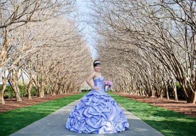 Dallas Arboretum Quinceañera Fashion Show