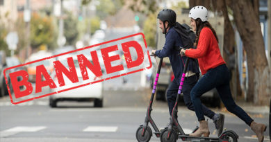 HP Bans Electric Scooters