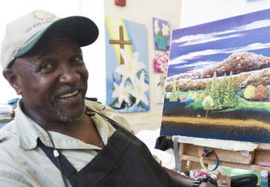 Homeless Find Food For the Soul Through Art