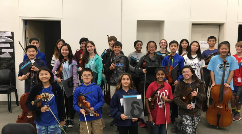 HPMS Orchestra Students Earn Region 20 Honors