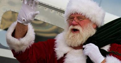 Santa Schedules Dallas Flight