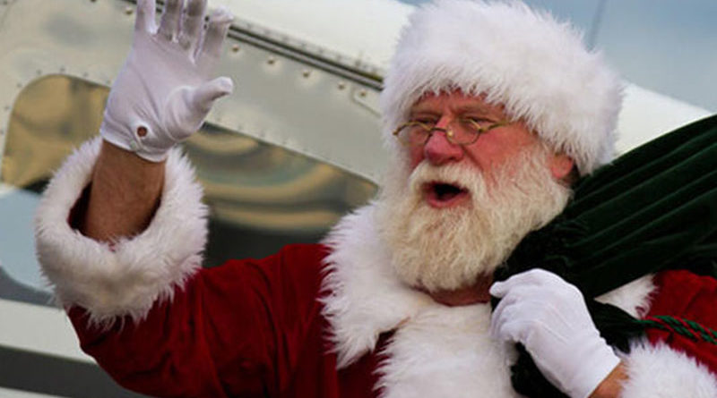 Santa Schedules Dallas Flight