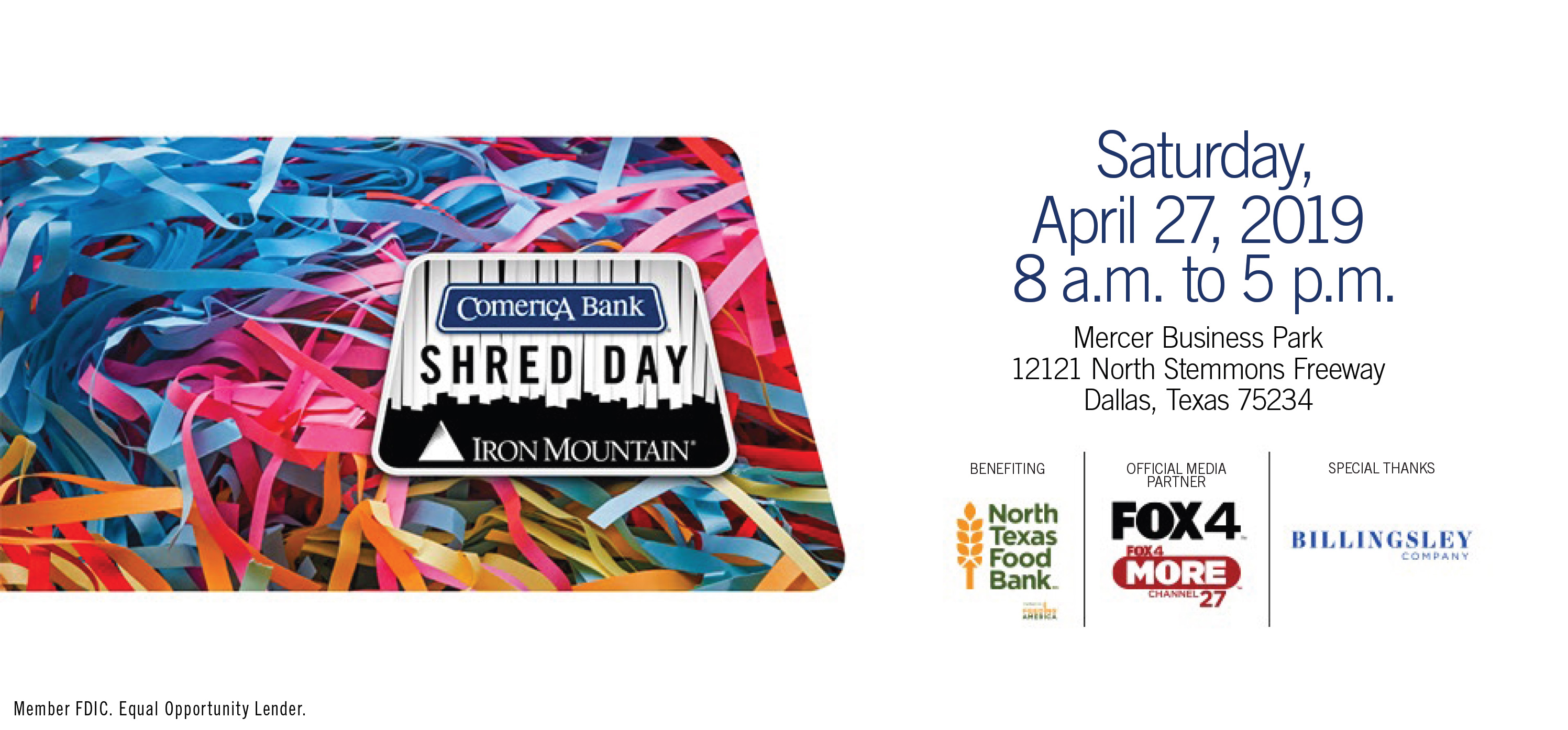 Comerica Bank Shred Day DFW – Park Cities People
