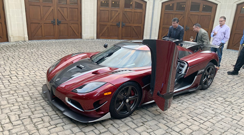 World's Fastest Car Makes Pit Stop in Dallas