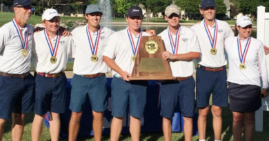 Scots Drive to Third Straight 5A Title