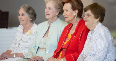 Hockaday Graduate Honored at 70th Class Reunion