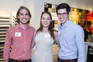 Ryan Fritz with Erin and Nicholas Roy of Sendero Consulting