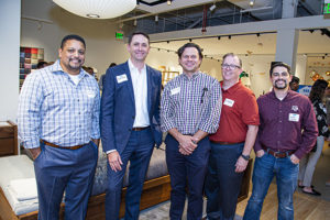David Ojeda, David Fisk, Zack Lamp, Mike Cluff, and Landan Coronado of Baker Triangle and HKS
