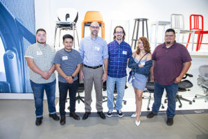 Architecture Demarest with MacArthur and Skyline High School students