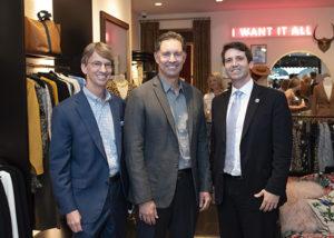 Bill Minick, Matt Osborne, and Jordan Lewis (Men's Advocacy Group)