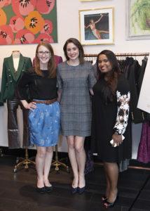 Annalise Peterson, Devon Smith, and Priya Murphy