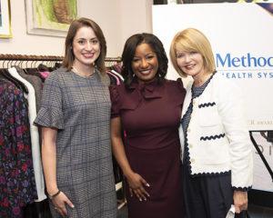 Devon Smith, Kim Robinson, and Joy Duncan with Methodist Health System