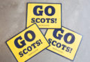 Show Your Football Spirit with a Scots Sign