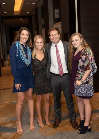 Shelly Slater, Mackenzie Kleinert, Tyler Kleinert, and Annemarie Graham