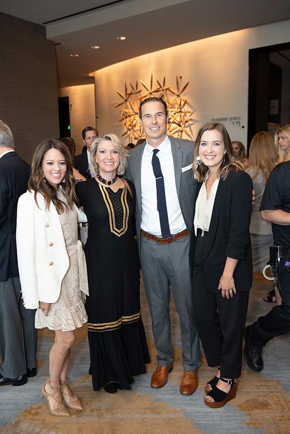 Melissa Ice, Vanessa Bouché, Noel Bouché, and Sarah Bowden