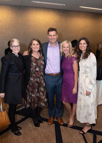 Krista Latendresse, Kara Poe Alexander, Derek Reaves, Kim Reaves, and Kellee Shoemaker