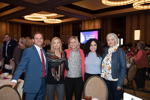 Mike Rials, Janet Jensen, Lauren Grogan, Jacqueline Alvaradejo, and Mandy Goodall