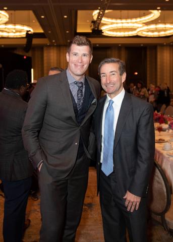 Chris Saddock and Chris Kleinert