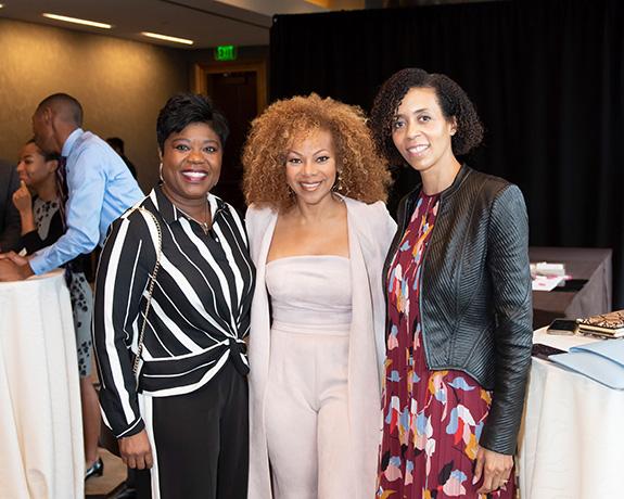 Sheena Payne, Donna Richardson, and Libby Wright