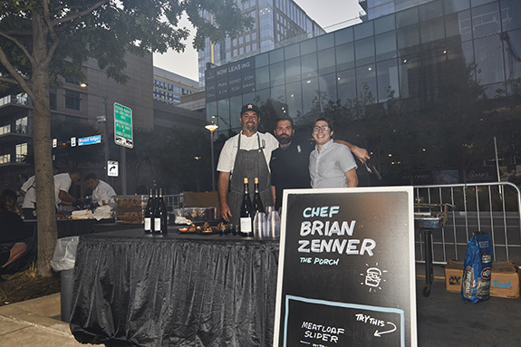 Chef Brian Zenner; The Porch