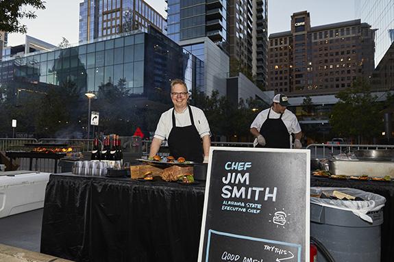 Chef Jim Smith; Alabama State