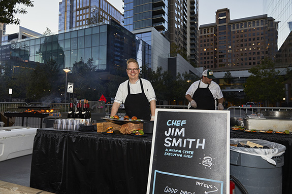 Chef Jim Smith; Alabama State
