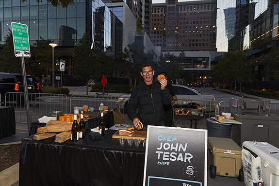 Chef John Tesar; Knife