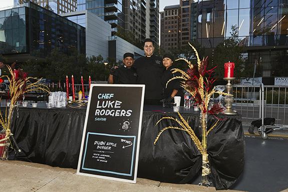 Chef Luke Rogers; Savor Restaurant