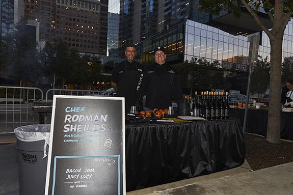 Chef Rodman Sheilds; Milkshake