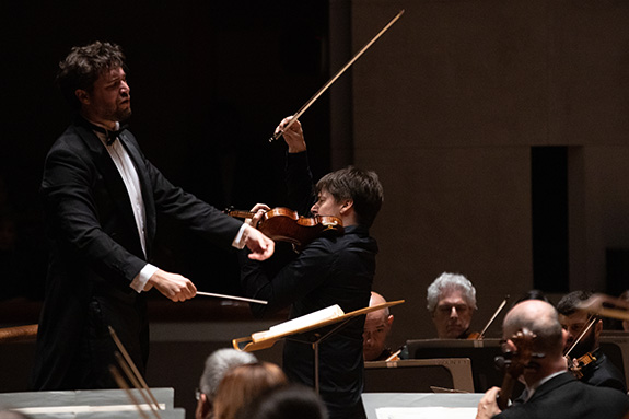 Christian Reif and Joshua Bell