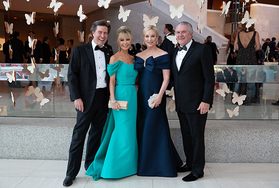 Clay and Lisa Cooley with Kim and Greg Hext