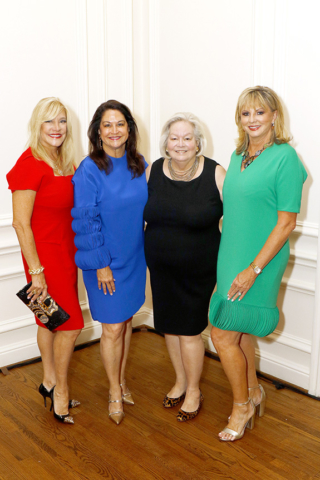 Suzette Derrick, Honorary Chair; Mari Epperson, Luncheon Chair; Sandy Secor, President, KidneyTexas; and Renée Winter, Honorary Chair.