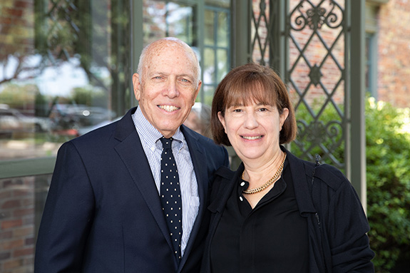 Jay and Janet Finegold, owners of KidBiz, a fashion show sponsor