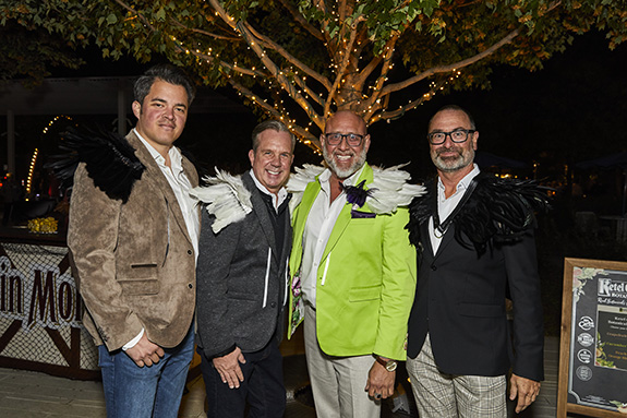 Gabe Lambert, Justin Jezek, Noel Rodriguez, and Mark Maryland
