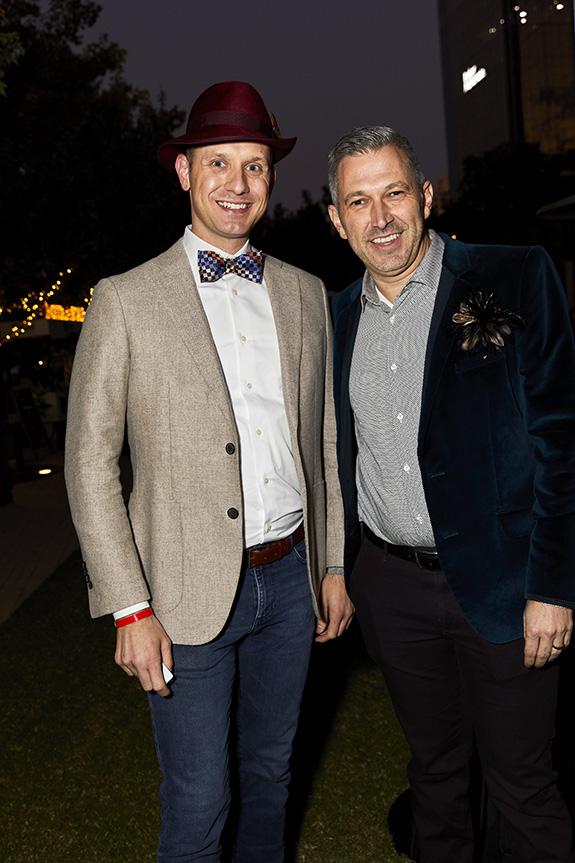 Justin Bundick and Jim DiMarino