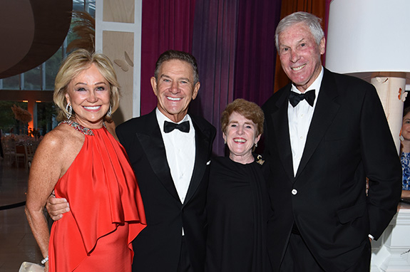 Kathryn and Craig Hall with Lucie and Henry Billingsley