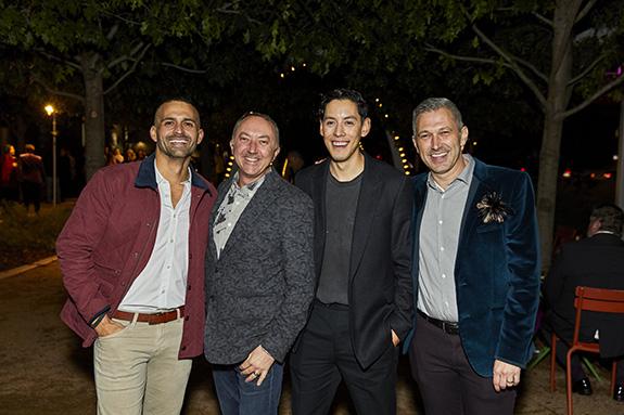 Kelvin Marel, John Hodge, David Gonzales, and Jim DiMarino