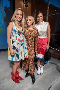 Lizzie Means Duplantis, Nasiba Hartland-Mackie, and Sarah Means