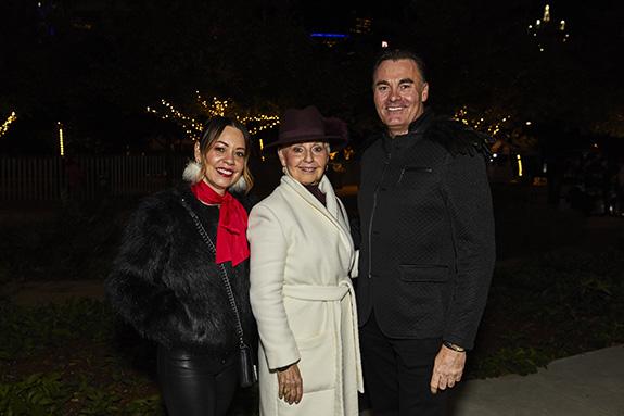 Marcella Generalovich, Elyce Mouskondis, and Parker Williams