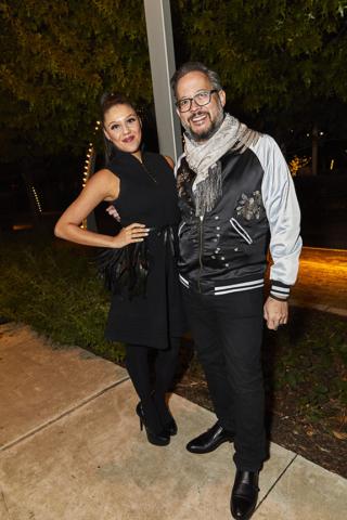 Miranda Grant and Erik Yang