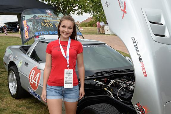 Kinzie Wilson – Mansfield Legacy High School Cheer Captain & racecar driver