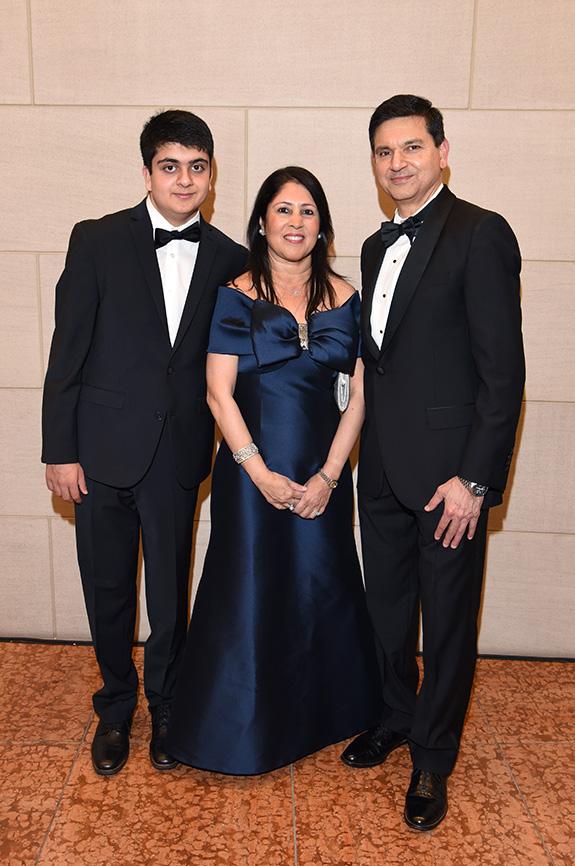 Shiv, Mohua, and Sanjiv Yajnik