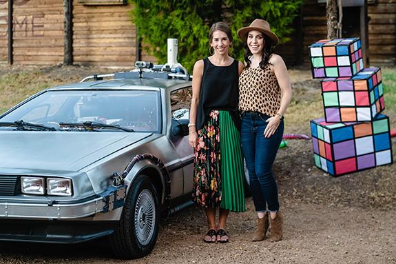 Dana Aduddell and Elise Nichols