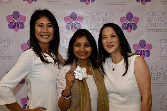 Founding officers Caren Lock, Sejal Desai, and Cynthia Yung