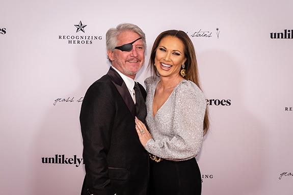 Rich Emberlin and LeeAnne Locken