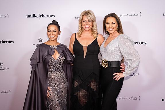 Anjelah Johnson, Erica Greve, and LeeAnne Locken