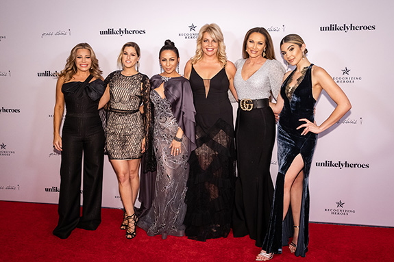 Taylor Dayne, Cassadee Pope, Anjelha Johnson, Erica Greve, LeeAnne Locken, and Cathy Kelley
