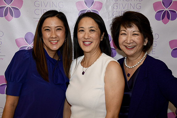 Anna Hung, Cynthia Yung, and Tracey Doi