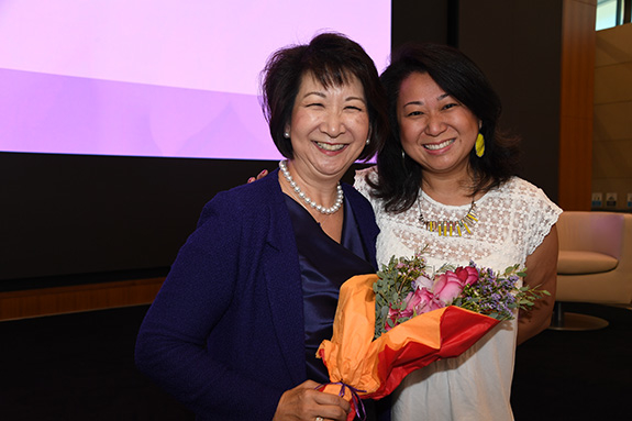 Tracey Doi and Mylinh Luong