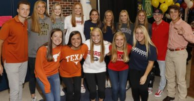 HP Athletes Finalize College Choices